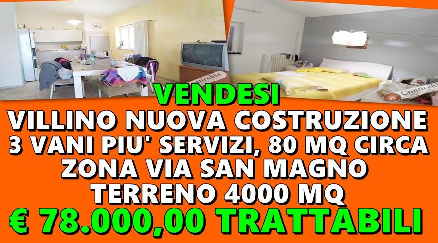 Vendesi Villino Nuova Costruzione.